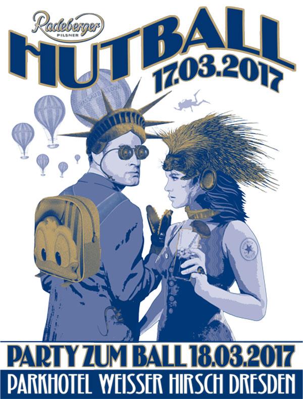 Hutball Party im Parkhotel Weisser Hirsch Dresden